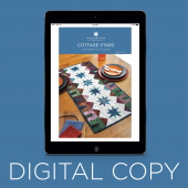 Digital Download - Cottage Stars Table Pattern by Missouri Star