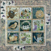 Nesting Pieced Quilt Pattern