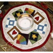 Quilt Blocks Candle Mat Kit