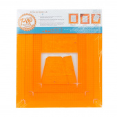 Orange Pop Rulers - Rectangle Set