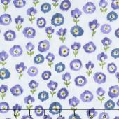 Petal Park - Fresh Cut Floral Hydrangea Fabric Yardage