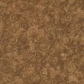 Moda Marble Swirls - Chocolate Yardage