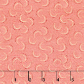 Blush and Blue - Double Crescents Blush Yardage