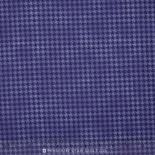 Arabella - Shaded Houndstooth Purple Yardage