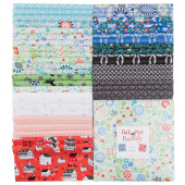 "Folk Art Fantasy Favorites 10"" Squares"