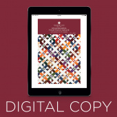 Digital Download - Disappearing Four-Patch Weave Quilt Pattern by Missouri Star