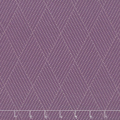 Mill Creek Garden - Diamond Stitches Purple Yardage