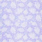 Elizabeth - Flowers Lilac Yardage