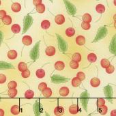 Back Porch Celebration - Cherries Sunshine Yardage