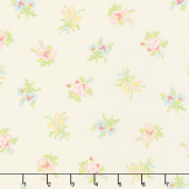 Bramble Cottage - Field Floral Pebble Yardage