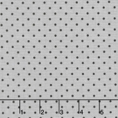 Delilah - Delilah Swiss Dot Gray Yardage