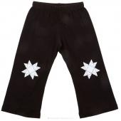 Missouri Star Knee Print Small Toddler Pants - Black
