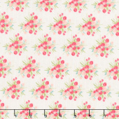 Flower Market - Bouquets Cream Yardage