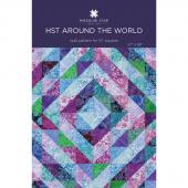 Half Square Triangles Around the World Quilt Pattern by Missouri Star
