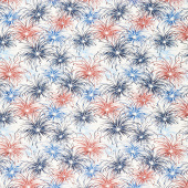 Liberty Lane - Fireworks Cream Yardage
