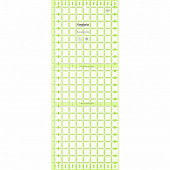 "Omnigrip 9.5"" x 24"" Row by Row/Fat Quarter Ruler"