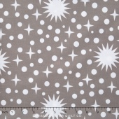 "Rhoda Ruth Wide - Stars and Dots Smoke 108"" Backing"