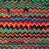 Kaffe Collective - Spicy Palette ZigZag Jade Yardage