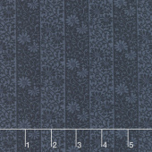 May Morris Studio - Stripe Twill 1906 Indigo Yardage