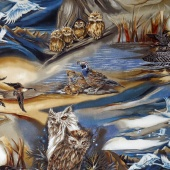 North American Wildlife - Bird Scenic Earth Yardage