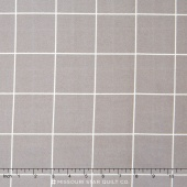 Kaffe Wall Grid - Grey Flannel Yardage
