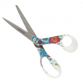 "Fiskars 8"" Bent Fashion Deco Scissors - Floral"