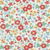 Aunt Grace's Apron - Wild Flowers Multi Yardage
