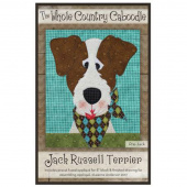 Jack Russell Terrier Precut Fused Appliqué Pack