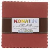 Kona Cotton Paintbox Charm Pack