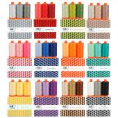 AURIfil™ Color Builder 50WT Thread of the Month