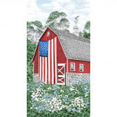 Novelty - Red Barn Multi Panel