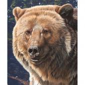 Wild and Beautiful - Bear Panel