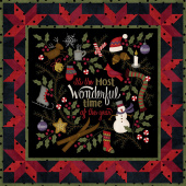 Most Wonderful Time Flannel Kit