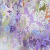 Diaphanous - Daydream Lavender Digitally Printed Yardage