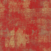 Grunge Basics - Red Berry Metallic Yardage