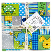 """Little One Flannel Too ! Favorites 10"""" Squares"""