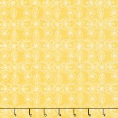 Hand Picked - Violet Yellow Yardage