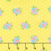 Good Day! - Flower Pop Yellow Yardage