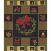 Delightful December - Pine Panel
