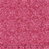 Paradise - Embossed Tonal Dark Pink Yardage