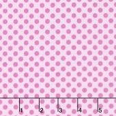 Fairy Garden - Garden Dot Pink Yardage