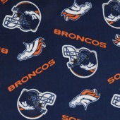 NFL Fleece - Denver Broncos Blue Yardage