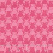 Kitty Kitty - Tonal Cat Pink Yardage