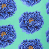 "Kaffe Fassett - Blue Bloom 108"" Wide Backing"