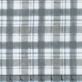A Day at the Lake - Plaid Gray Yardage
