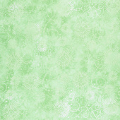 "Wilmington Essentials - Flower Burst Lime 108"" Wide Backing"