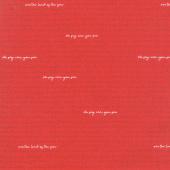 Land of Liberty - Text Red Yardage