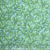 The Rainbow Fish - Seaweed Green Light Blue Yardage