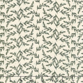 Gingham Farm - Vines Cream Yardage