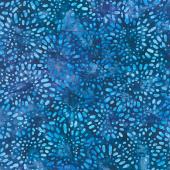 Artisan Batiks - Garden Style Petals Royal Yardage